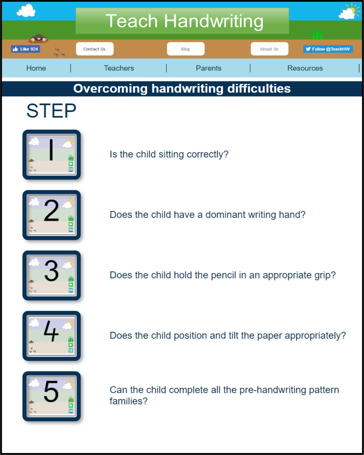 Step by Step overcoming difficulties 1