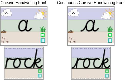 CC & Cursive 1